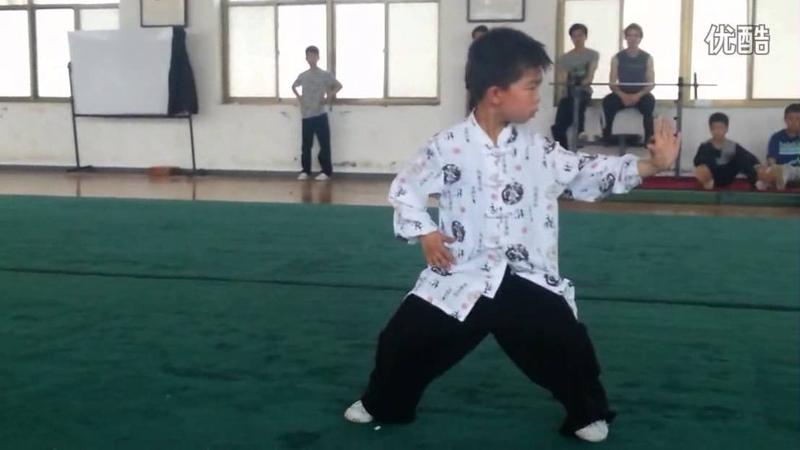 BajiQuan DanDa - 8 year old MengCun kid