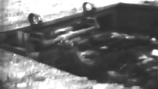 Coastal Gun Batteries [Pointe du Hoc] Dead Germans; USS Texas (BB-35) Normandy, 1944 (full)