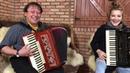 Bia Socek e Carlinhos Steiner floreando o acordeon