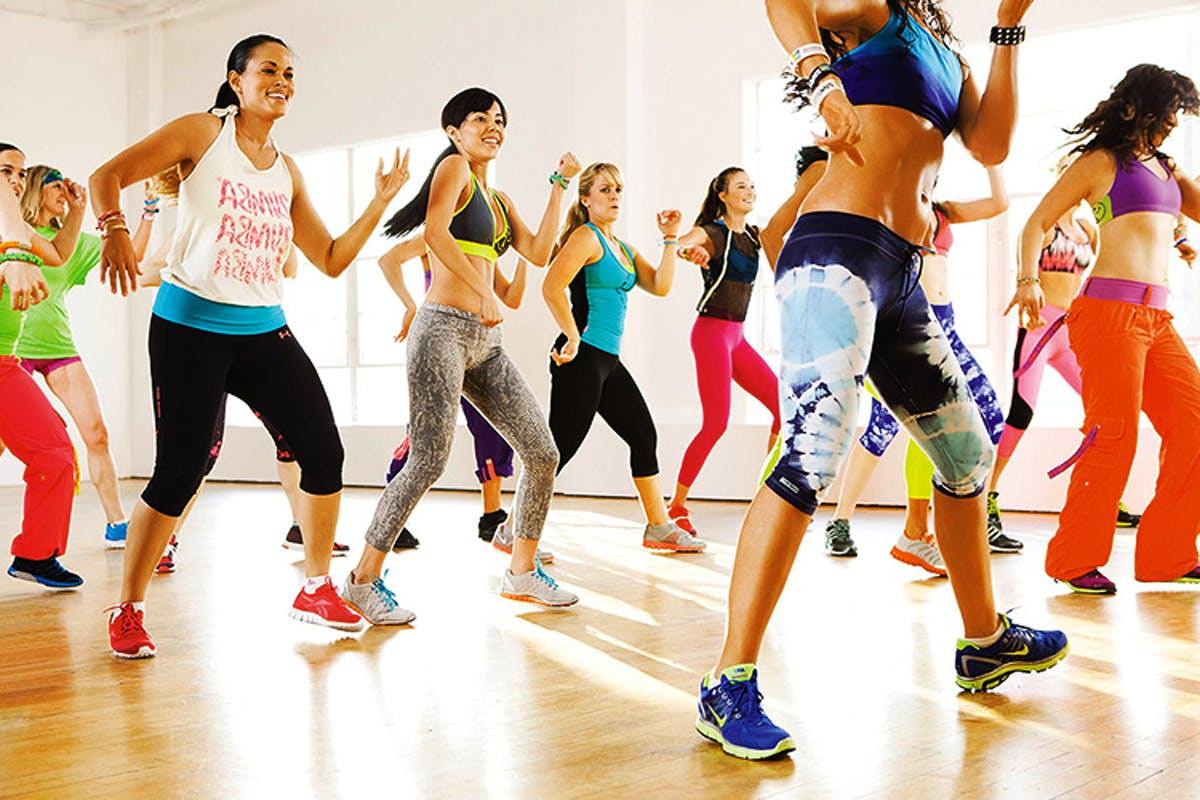 Фитнес танцы зумба похудение