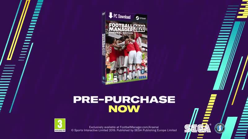 Introducing @FootballManager 2020 - The Arsenal Edition - - Check out those kits in the exclusive Arsenal pack for FM2020