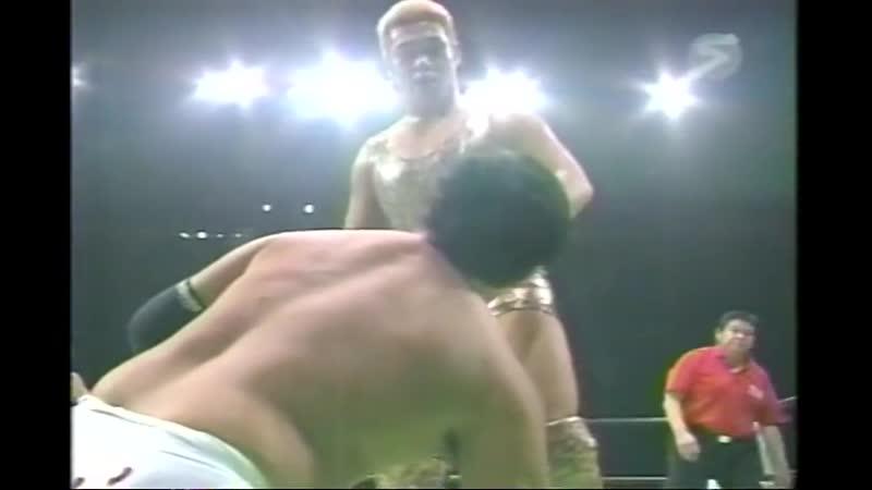 2000.08.19 - Rusher KimuraMitsuo MomotaMakoto Hashi vs. Haruka EigenTsuyoshi KikuchiMasao Inoue