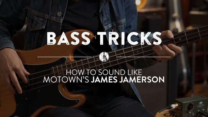 The James Jamerson Motown Bass Sound Reverb Bass Tricks
