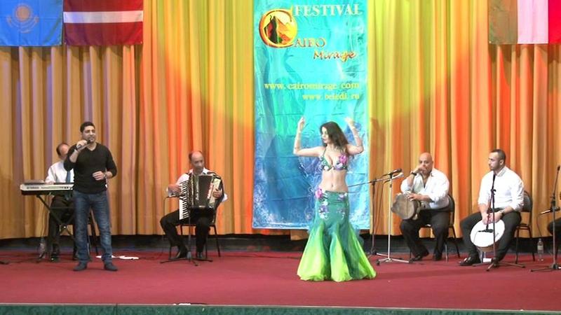 Julia Tenyukh- International belly dance festival Moscow CAIRO Mirage 2015.