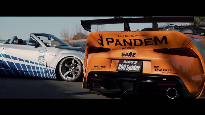 The Future of Fast Furious A90 SUPRA ؟ × R35 GTR ؟ ~ ¦ PANS EYE NATS 日本自動車大学校 Wild Speed Perfect Stance