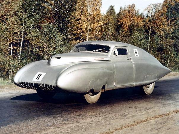 Спортивный автомобиль ГАЗ-М20 «Победа-Спорт» образца 1950 года