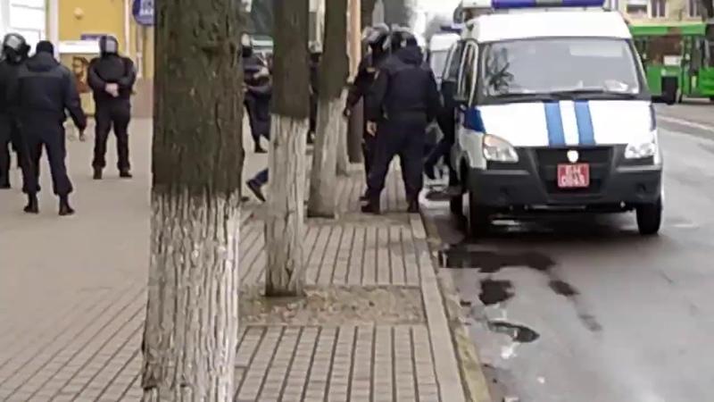 Барановичи 15 ноября задержание