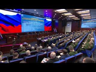 Подведение итогов СКШУ Центр-2019 под руководством Сергея Шойгу