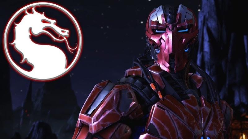Мортал комбат 10 Робот Триборг против Бубы из дбд Mortal Kombat X