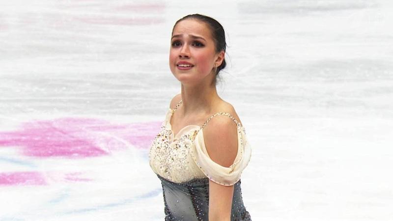 Алина Загитова выиграла короткую программу. Женщины. Чемпионат мира по фигурному катанию 2019