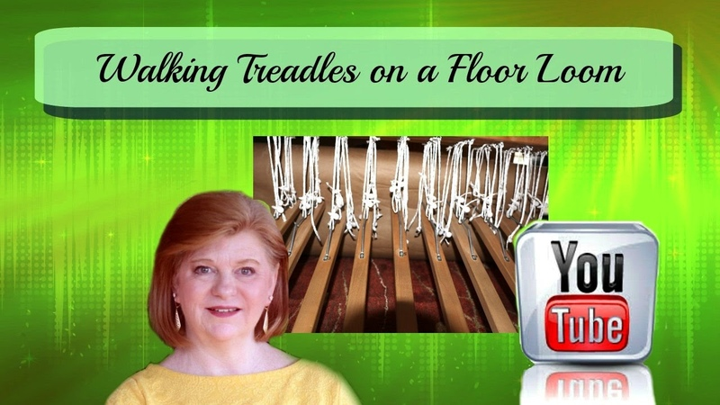 Walking Treadles on a Floor Loom How to change the draft tie the treadles