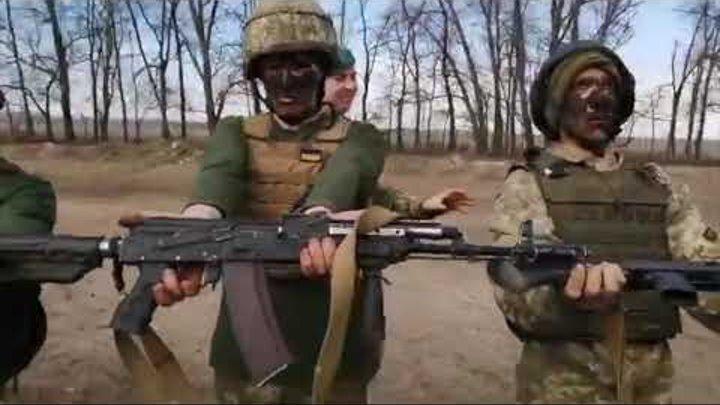 Не ржать! Украинские морпехи на полигоне под Херсоном