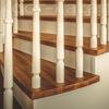 Деревянные лестницы в Казани, на металлокаркасе