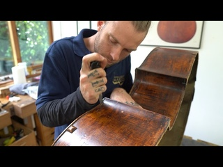 Workshop: William Booth II Double Bass Ep 1, Inspection, Planning and Taking Apart