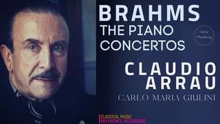 Brahms - Piano Concertos Nos.1,2 / NEW MASTERING (.: Claudio Arrau, Carlo Maria Giulini)