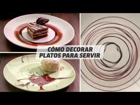 Cómo decorar platos para servir Trucos de cocina VIX