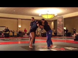 Tara White vs. Tammy Greigo match 1 Five Grappling Invitational 2013