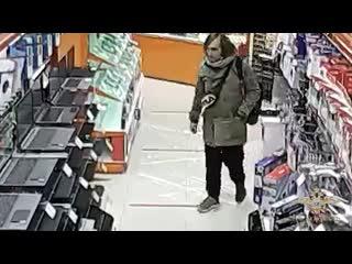 Полиция разыскивает вора