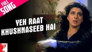 Yeh Raat Khushnaseeb Hai Song   Aaina   Jackie Shroff, Juhi Chawla, Amrita Singh   Lata Mangeshkar