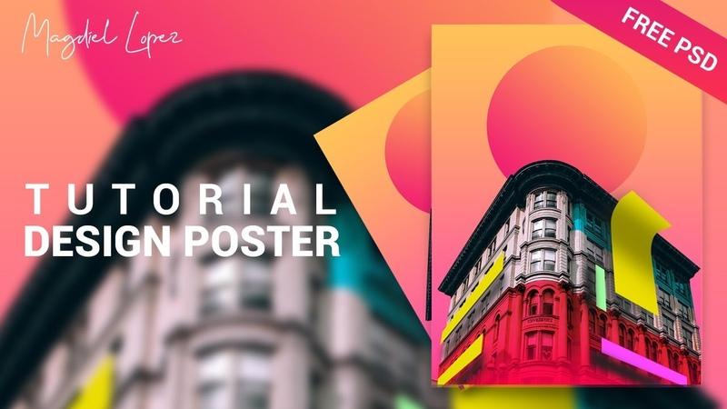 Neoclassical Building Poster Design ala Magdiel Lopez Tutorial Photoshop CC 2019