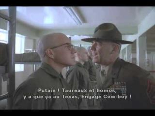 Full Metall Jacket - Sergeant Hartman Speech
