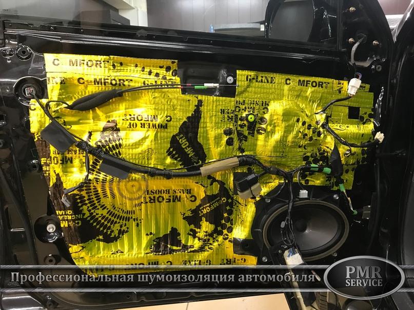 Комплексная шумоизоляция Toyota Land Cruiser 120, изображение №9