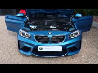 BMW M2 3.0 TwinPower Turbo 7 Speed DCT in Long Beach Blue with Black Nevada Leat