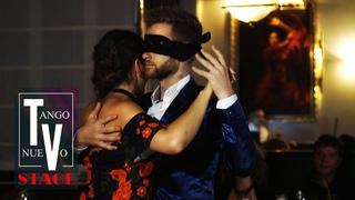 Joscha Engel & Agnieszka Stach, blindfolded improvisation - Maritime Tango Challenge 2018