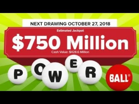 A whopping $750 million powerball no winner for Saturday's Powerball drawing