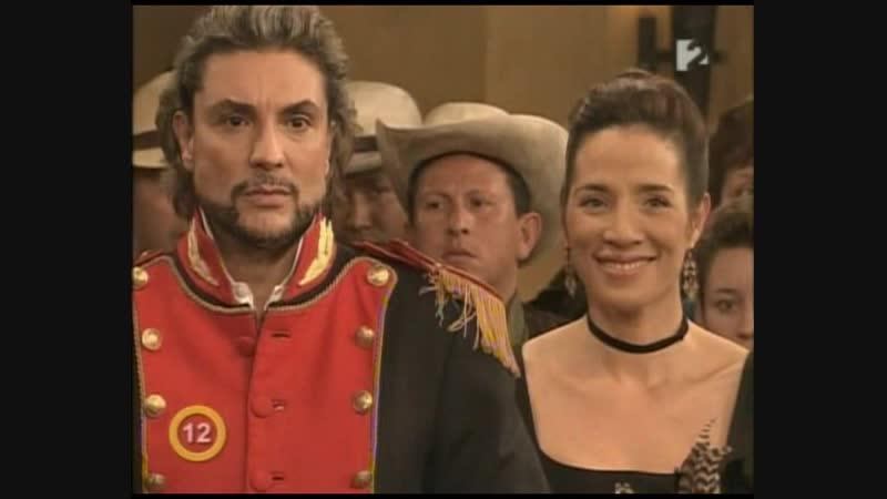 Зорро Шпага и роза Zorro La Espada y La Rosa 2007 111 серия 2