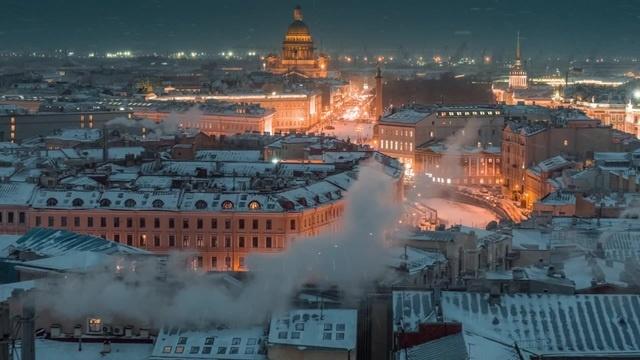 Winter city · coub коуб