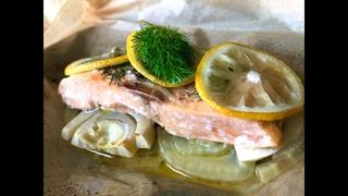 Рыба с фенхелем в духовке