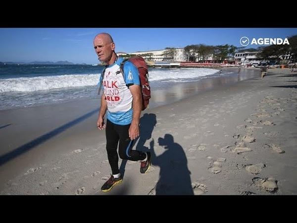 Путешественник Сергей Лукьянов обошёл Землю пешком за 2 года