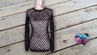 Pull Résille Crochet toutes tailles Lidia Crochet Tricot