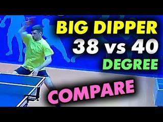 BIG DIPPER: чем отличаются губки 38 и 40 градусов? Обзор разницы версий популярной накладки от YINHE