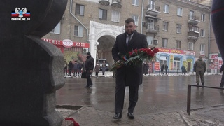 Денис Пушилин возложил цветы к месту трагедии на Боссе