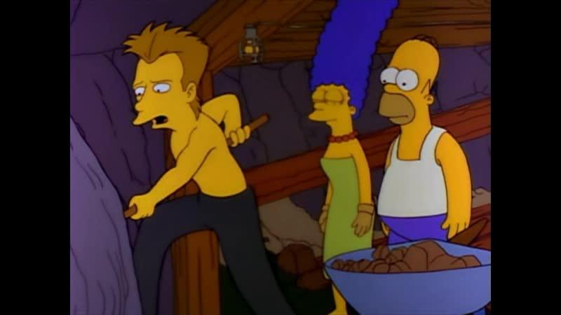 The Rescue of Bart Спасение Барта The Simpsons Симпсоны