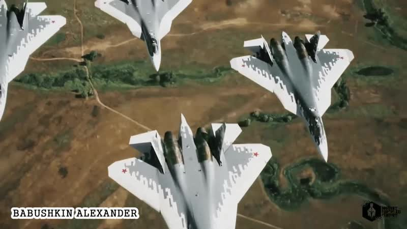 Su-57 Fighter Jet - Pushing The Limits (2019)_Су-57 - Раздвигая Границы (2019)