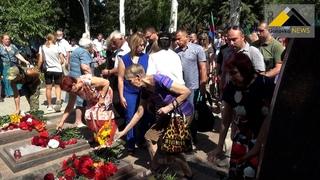 В Горловке прошел митинг, приуроченный к семилетию «кровавого воскресенья»
