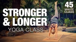 Stronger & Longer Yoga Class - Five Parks Yoga
