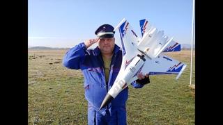 SUKHOI SU 27 EPO 6CH 6 Axis Gyro 3D Stunt Auto-Return RC Airplane with FC Mode 2 RTF Maiden flight
