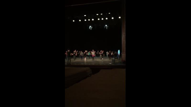 Репетиция спектакля Еврейское счастье