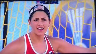 Beach Handball Women USA VS Russia Ep. 2