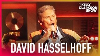 David Hasselhoff Performs 'True Survivor' From 'Kung Fury'