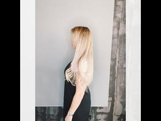 Наращивание волос для Юлии