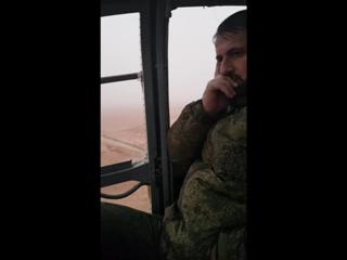 "Бригадир Сухаил Аль-Хассан ""Ан-Нимр"" (Тигр"") и полевой командир Полка ""Таха"" Али Таха"