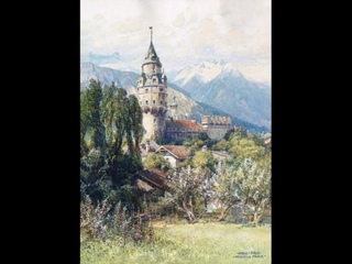 Австрийский художник Friedrich Frank (1871-1945)