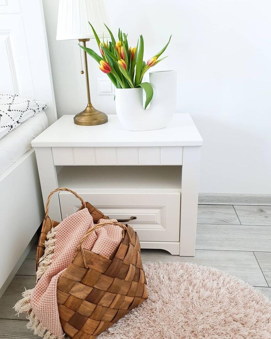 В социальных сетях все больше завоевывают популярность новые плетенные корзины