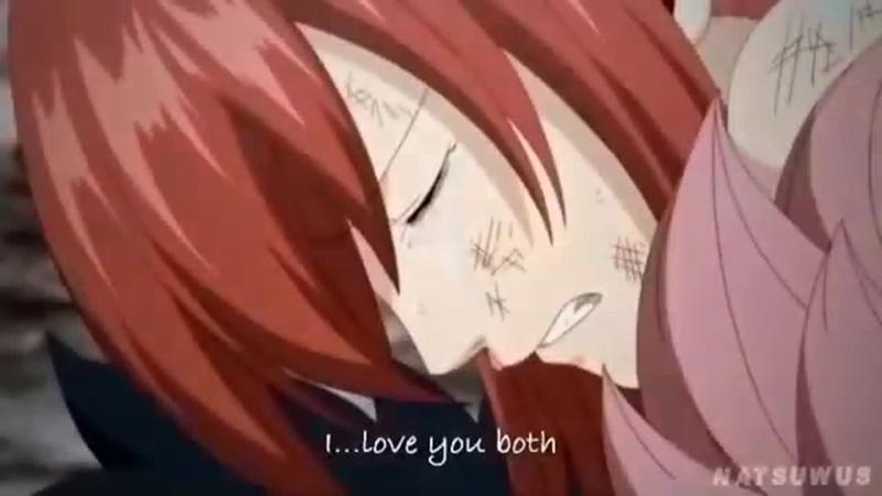 Fairy Tail ⊱ vine ⊰ Gray Fullbuster x Erza Scarlet x Natsu Dragneel