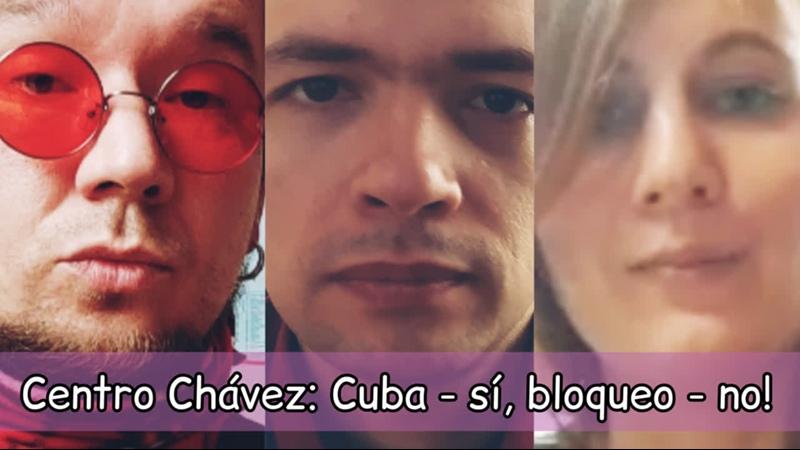 CCHTV Центр Чавеса против блокады Кубы 27 03 2021